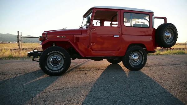 Classic Toyota Land Cruiser